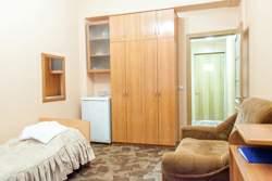 Одноместный номер с балконом 1 комната санаторий Родник Кисловодск - Фото 4