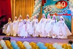 Выступление кавказского ансамбля танцев в санатории Родник Кисловодск