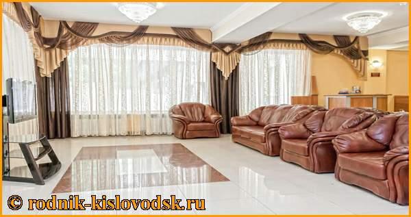 Номерной фонд, размещение в номерах в санатории Родник Кисловодск официальный сайт